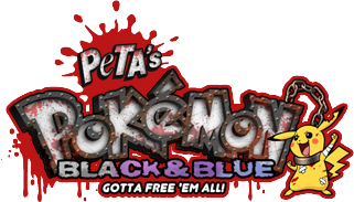Pokémon Black and White Parody Game: Pokémon Black and Blue | PETA org